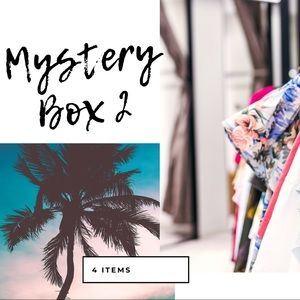 4 pieces mystery box